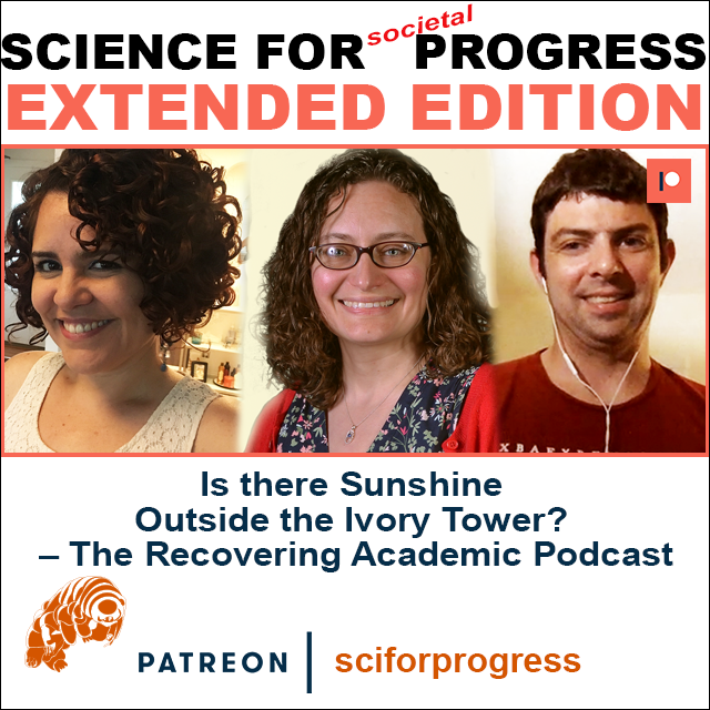 EXTENDED Episode released:  Visiting the Recovering Academic Podcast - full conversation